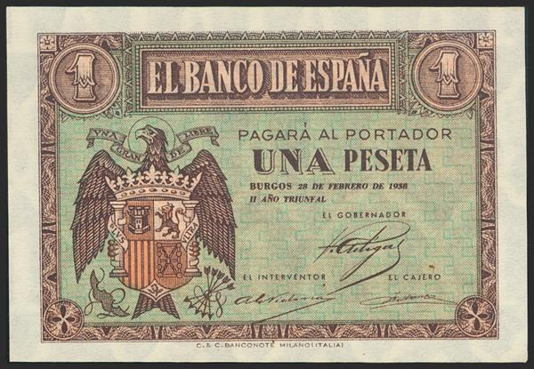 2193 - Billetes Españoles
