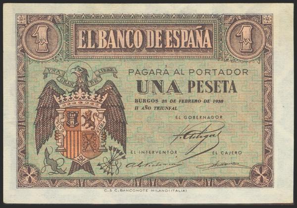 2196 - Billetes Españoles