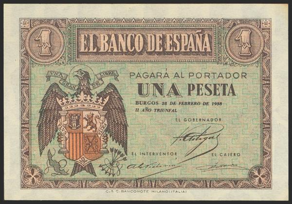 2197 - Billetes Españoles