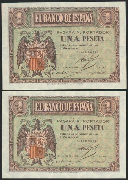 2198 - Billetes Españoles