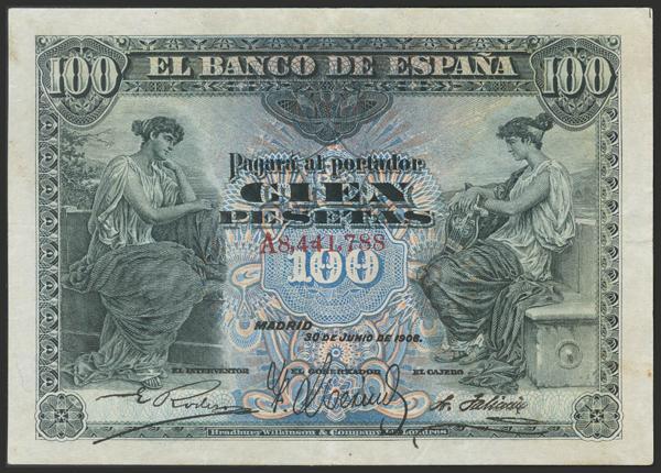 1427 - Billetes Españoles
