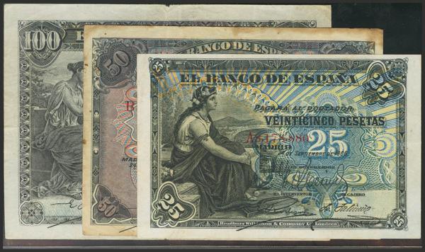 1428 - Billetes Españoles