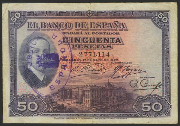 1431 - Billetes Españoles