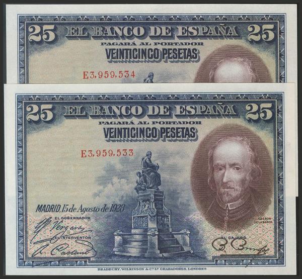 1434 - Billetes Españoles