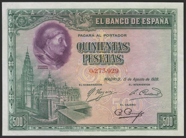 1435 - Billetes Españoles