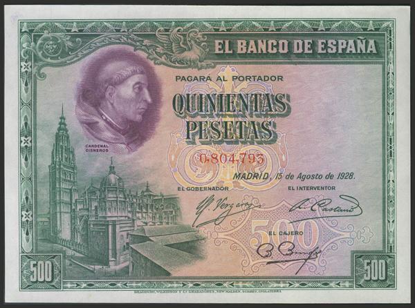 1436 - Billetes Españoles