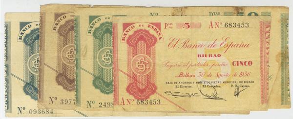 1438 - Billetes Españoles