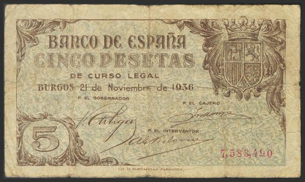 1442 - Billetes Españoles