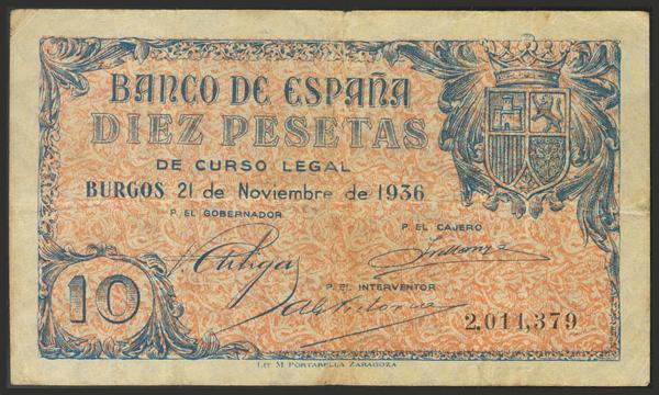 1443 - Billetes Españoles