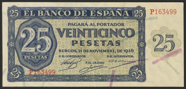 1444 - Billetes Españoles