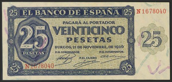 1445 - Billetes Españoles