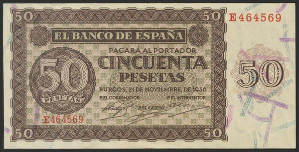 1447 - Billetes Españoles