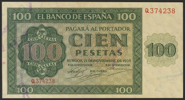 1448 - Billetes Españoles