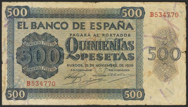 1449 - Billetes Españoles