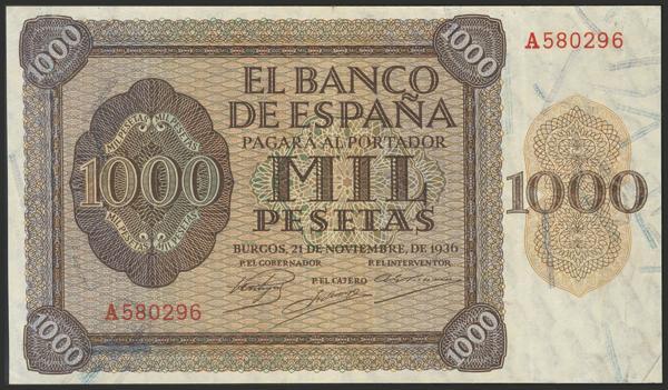 1450 - Billetes Españoles