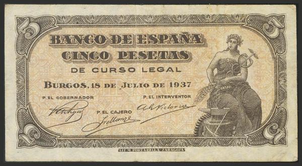 1451 - Billetes Españoles