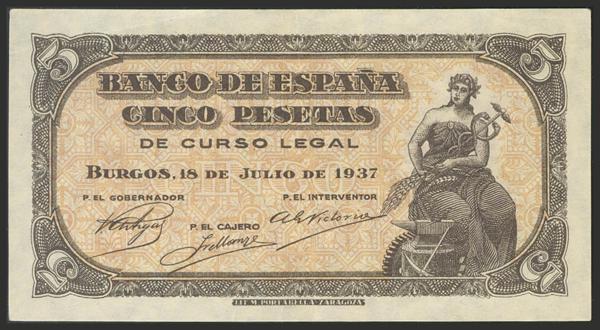 1452 - Billetes Españoles