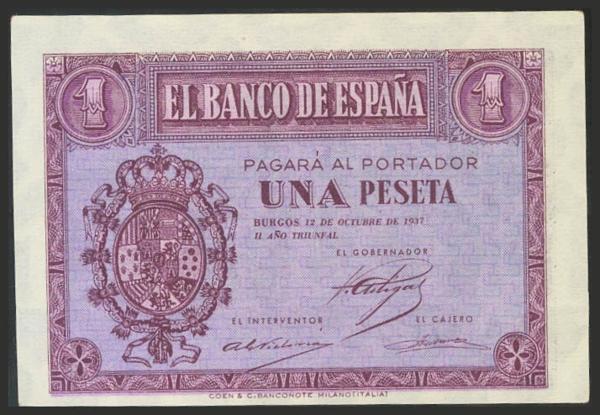 1454 - Billetes Españoles