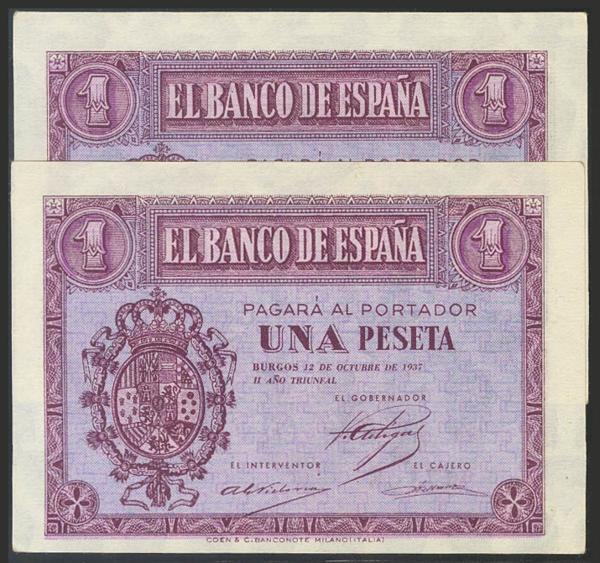 1455 - Billetes Españoles