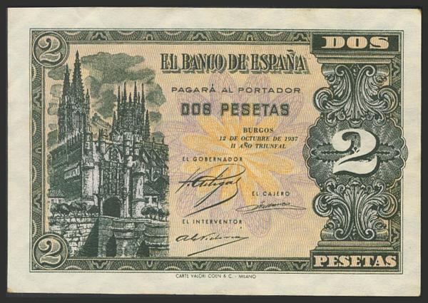 1456 - Billetes Españoles