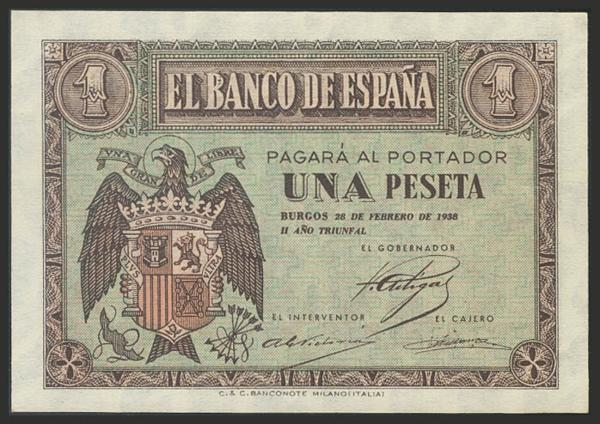 1457 - Billetes Españoles