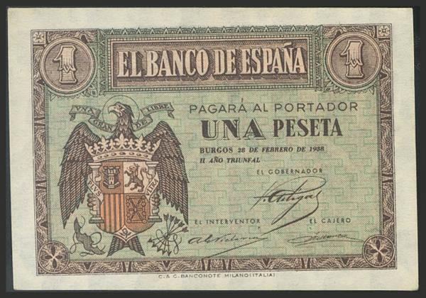 1458 - Billetes Españoles