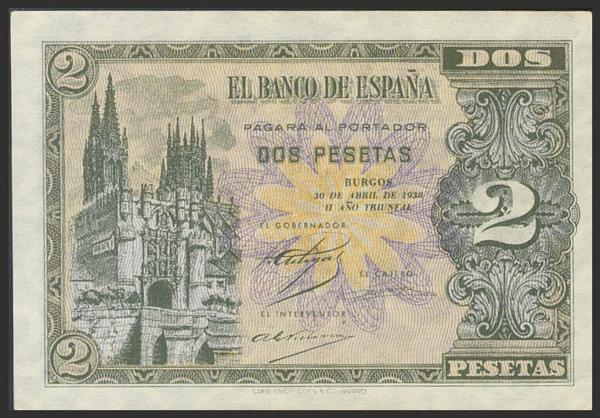 1460 - Billetes Españoles