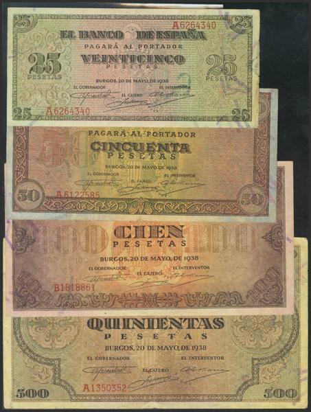 1461 - Billetes Españoles