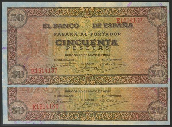 1462 - Billetes Españoles