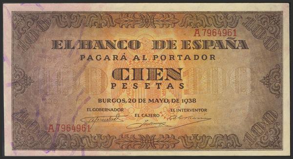 1463 - Billetes Españoles