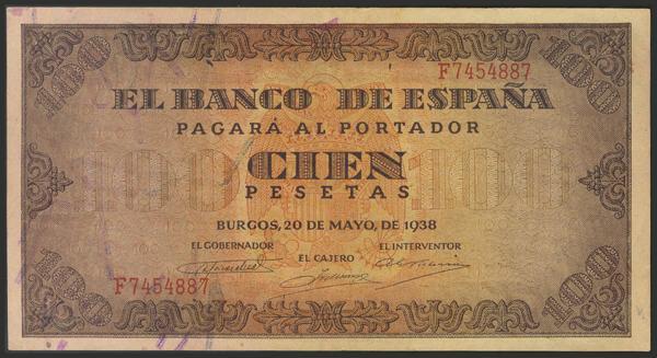 1464 - Billetes Españoles