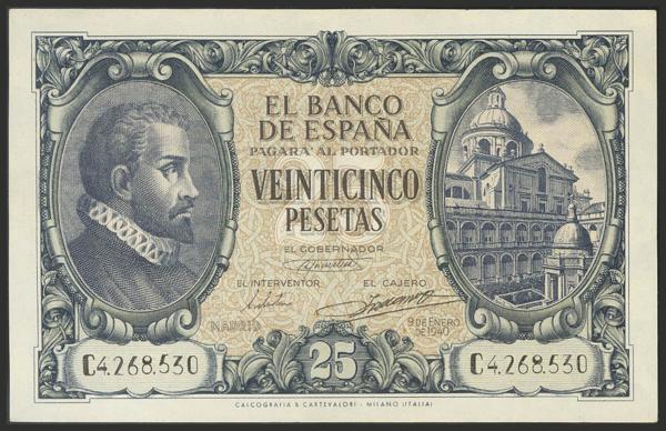 1465 - Billetes Españoles