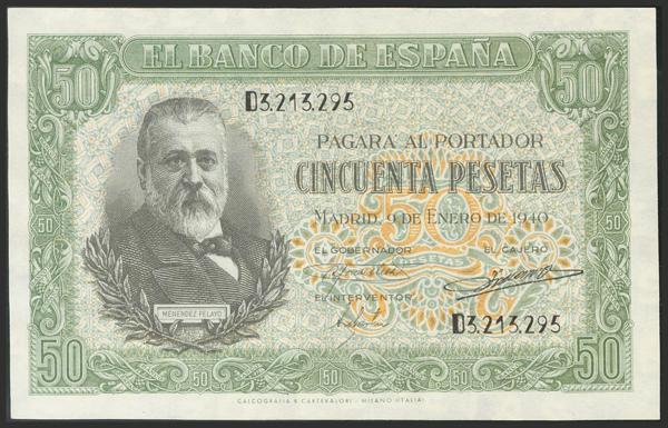 1466 - Billetes Españoles