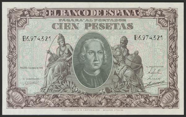 1467 - Billetes Españoles