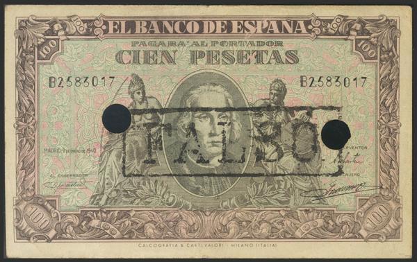 1468 - Billetes Españoles