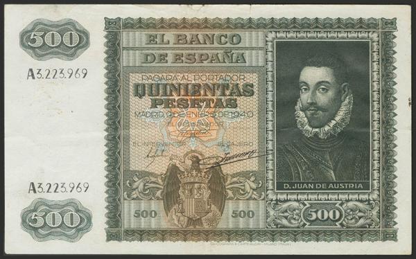 1469 - Billetes Españoles