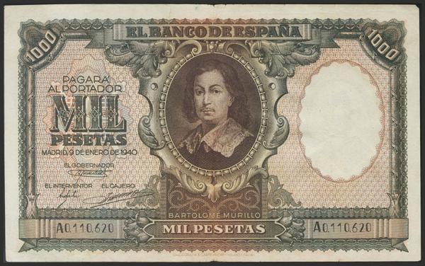 1470 - Billetes Españoles
