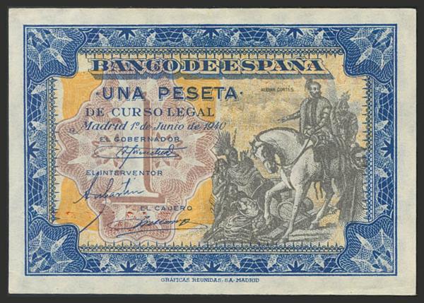 1471 - Billetes Españoles