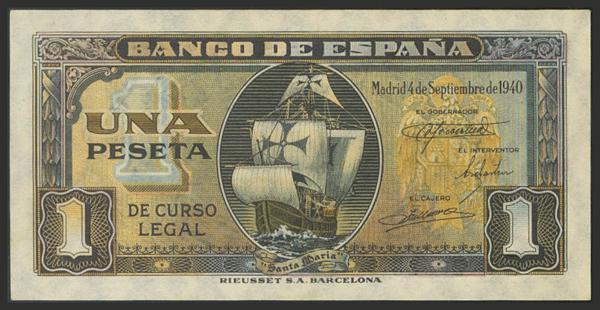 1472 - Billetes Españoles