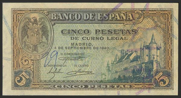 1473 - Billetes Españoles