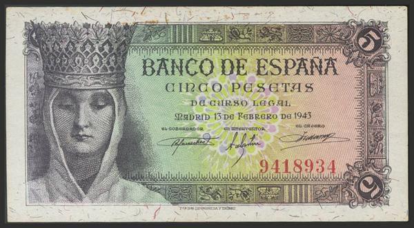 1476 - Billetes Españoles