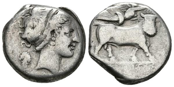 9 - Ancient Greek coins