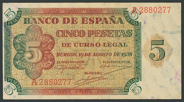 102 - Billetes Españoles