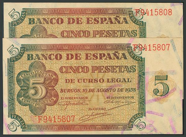 104 - Billetes Españoles