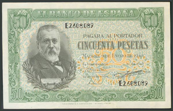108 - Billetes Españoles