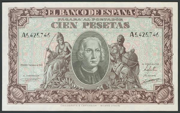 110 - Billetes Españoles