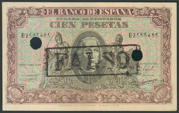 112 - Billetes Españoles