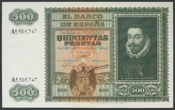 113 - Billetes Españoles
