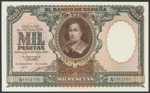 114 - Billetes Españoles
