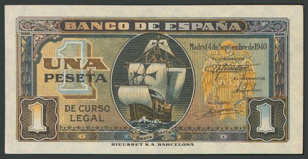 116 - Billetes Españoles